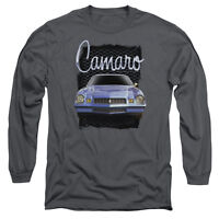 CHEVY YELLOW CAMARO Licensed Adult Men's Long Sleeve Graphic Tee Shirt SM-3XL