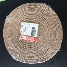 Fettuccia passamaneria tessuto cotone 100%_colore TORTORA_20mt x 4cm Altezza