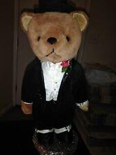 DOWNTON ABBEE GROOM WEDDING BEARS Sir Theodore Bear, ,Larry  Fannin,58180
