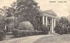 Natchez Mississippi Melrose Historic Building Exterior Antique Postcard K13333