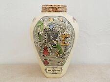 Adams Dickens Large Vase - Vintage Series Ware Dickensware