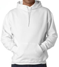 New Plain White Sweatshirt Men,Women Pullover Hoodie Fleece Cotton Blank Hoodie