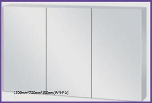 1200*720*150(W*H*D)Shaving cabinet with beveled edge mirror door