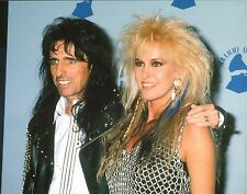 Alice Cooper & Lita Ford 11x14 Photo Billion Dollar Babies Trash Kiss Me Deadly