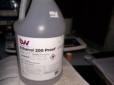 Anhydrous Ethanol 200 Proof/100% Grain Alcohol Food Grade USP. NOT Denatured!