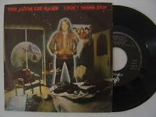 THE ALVIN LEE BAND I don´t wanna stop / city lights SPAIN PROMO 45 AVATAR 1981
