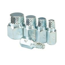 5 PC Zinc Plated Pipe Nipple Extractor Set With Free US Shipping!