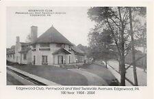 Edgewood Club Edgewood PA Reproduction Postcard