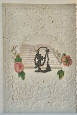 Rare, Very Delicate Mid-19th Century Antique Valentine