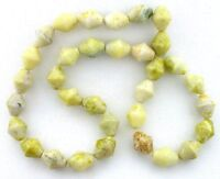 """CLEAN /& SIMPLE PETRIFIED WOOD JASPER 12MM COIN BEADS 16/""""  STRAND 35 BEADS"""