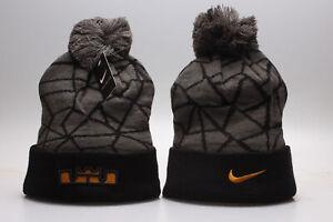 Nike Lebron James Winter Knit Beanie Cuffed POM Adult Unisex Hat New Style - New