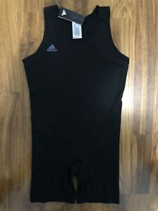 Adidas Powerlift Weightlifting Singlet Adult Size L Bodybuilding Suit CW5648