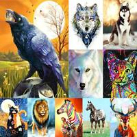 5D DIY Diamond Painting Full Square Drill Animal Cross Stitch Mosaic Home Kit