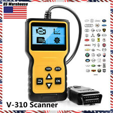 OBD2 OBDII Car Engine Check Code Scanner Reader Fault Code Diagnostic Scan Tool