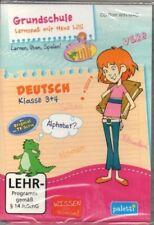 Grundschule - Lernspaß mit Hexe Lilli - Deutsch Klasse 3 + 4 - PC Software - Neu