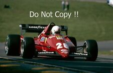 Rene Arnoux Ferrari 126C3 European Grand Prix 1983 Photograph 1