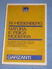 NATURA E FISICA MODERNA - Werner Heisenberg - Garzanti  (L2)