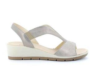 ENVAL SOFT 7278222 Sandalen Schuhe Keilabsätze Leder Frau Laminat Elastisch