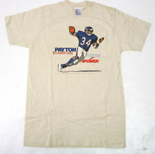Vintage 80s Chicago Bears Walter Payton Sweetness T-Shirt S 1985 Poetry + Power