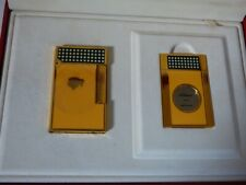 ST Dupont Duo Cohiba Ltd Edition Lighter +Cigar Cutter- Fully Boxed with Papers