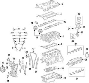 Genuine GM Bearing Set 55568532