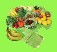 New Fresh Food Storage Fruits, Vegetable, Fridge Storage Reusable Green Bags UK