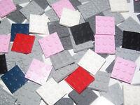 Lego ® Lot x2 Plaque Carré 3x3 Square Plate Pletten Choose Color ref 11212 NEW