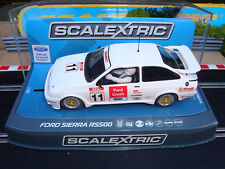 NUOVO in scatola Scalextric FORD SIERRA RS500 RIF. C3781 con luce posteriore e DPR