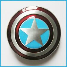 Captain America Shield Marvel Avengers Superhero Metal Belt Buckle Fast Ship US
