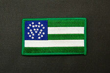New York Police Department Flag Patch NYPD New York City NYC Finest Hook & Loop