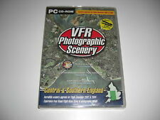 VFR PHOTOGRAPHIC SCENERY Central & Southern England VOL 2 Pc Add-On FS2004 NEW