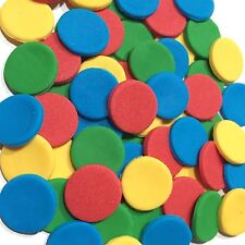 Dots Circles Sesame Street  Edible  Cake, Cup Cake, Birthday Toppers X 50