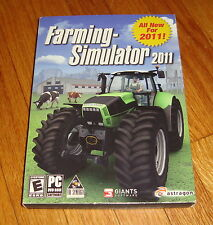 Farming Simulator 2011 PC w/Slipcover