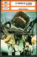 FICHE CINEMA : LE CONVOI DE LA PEUR Scheider,Cremer,Amidou,Friedkin1977 Sorcerer