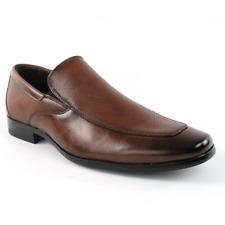 Brown Men's Slip On Dress Shoes Loafer Textured Formal Bonafini 155 New Style