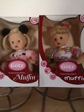 Götz Babypuppe Muffin, 1720922 o. 1620915, 33cm, Götz-Karton,waschbare Haare