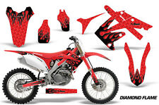 Honda Graphic Kit AMR Racing Bike Decal CRF 250 Decal MX Parts 2010-2013 DFLAME
