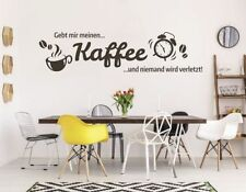 Moderne Deko-Wandtattoos & -Wandbilder mit Kaffee