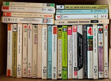 Lot Of 28 Reel-To-Reel Tapes ~ Classical Jazz Show Pop Opera Samplers