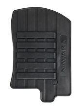 NISSAN Navara Genuino Auto Tappetini su misura in gomma anteriori + posteriori Set x 4 KE7585X489