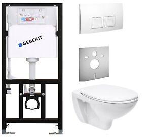 WC  Element  mit Spülkasten Geberit Wand WC  Vorwandelement  Setangebot