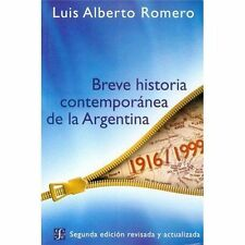Breve Historia Contemporanea de la Argentina (Bookbook - Detail Unspecified)