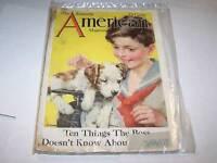 JAN 1927 AMERICAN  magazine DOG
