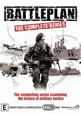Battleplan : Series 1-2 Military Tactics (5-Disc) New ExRetail Stock Genuine D73