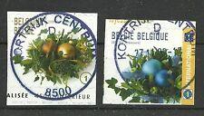 BELGIEN/ Weihnachten 2009 MiNr 4027/28 BDr o