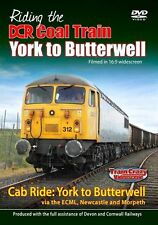 Riding the DCR Coal Train - York to Butterwell  (Cab Ride)  *DVD
