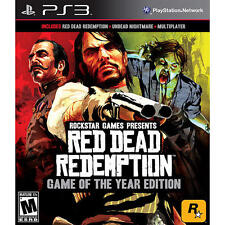 Red Dead Redemption Game of the Year PS3 * NEW *