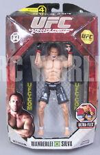 "Jakks UFC Ulimate Fighting MMA WANDERLEI SILVA  6"" Action Figure *NEW* #D2"