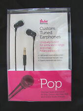 Radiopaq Custom Tuned Pop Earphones iPhone,iPad,iPod Compatible New & Sealed