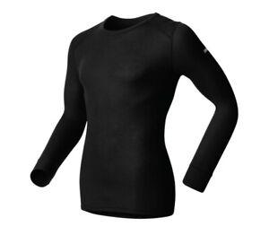 Odlo Men's Warm Originals Long Sleeve Crew 152022 Base Layer Top Mens Size Small